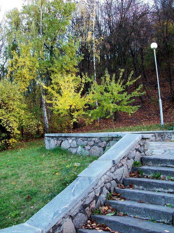 Осенняя природа Печерского парка