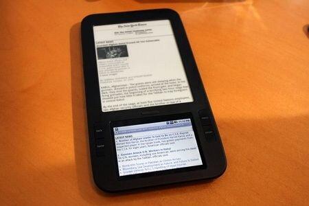 Alex e-reader - устройство с читалкой и карманным компьютером в одном корпусе