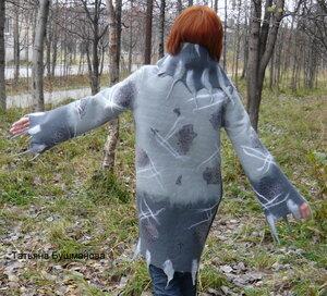 моё валяное пальто