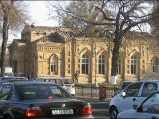 Ташкент.Церковь во имя благоверного великого князя Александра Невского была построена неподалеку от Учительской семинарии в 1898 году по проекту А.Л. Бенуа.Снесён в это воскресенье.