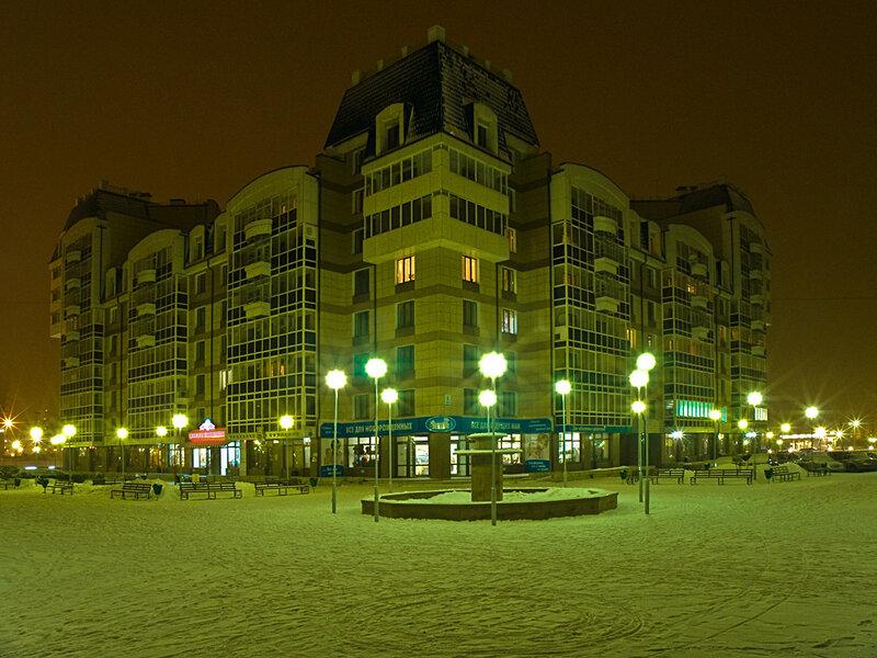 Лучший двор в Красноярске