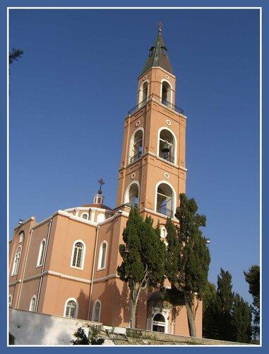Праздник на подворье Русской Духовной Миссии в Яффо