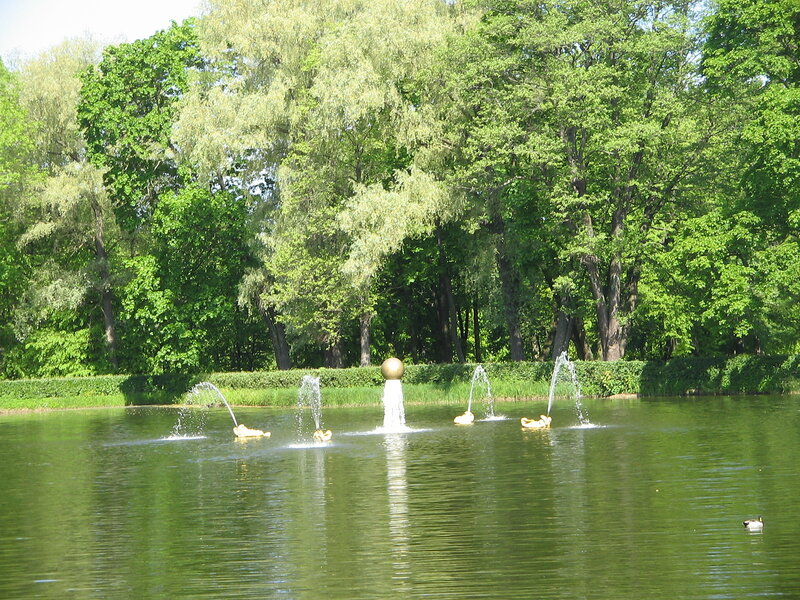 Fountains of Peterhof Palace, Lower Gardens