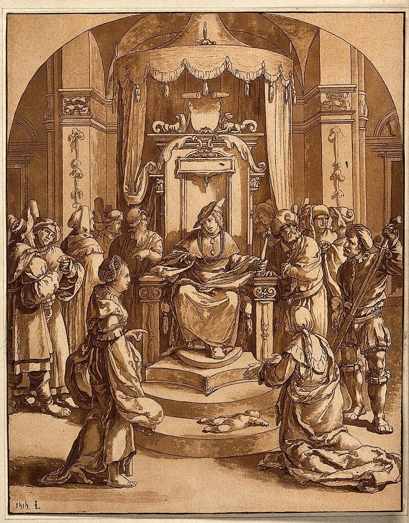 Solomon_judges_the_case_of_the_two_harlots._Aquatint_after_L_Wellcome_V0034397.jpg