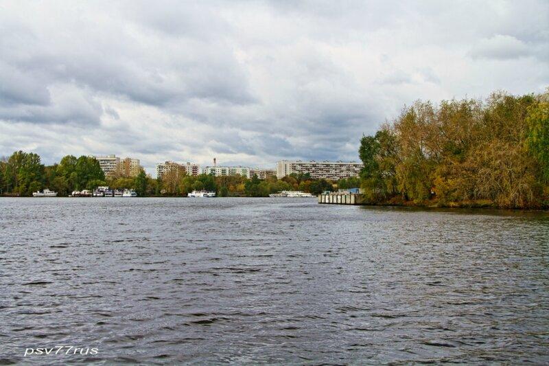 Химкинское водохранилище.