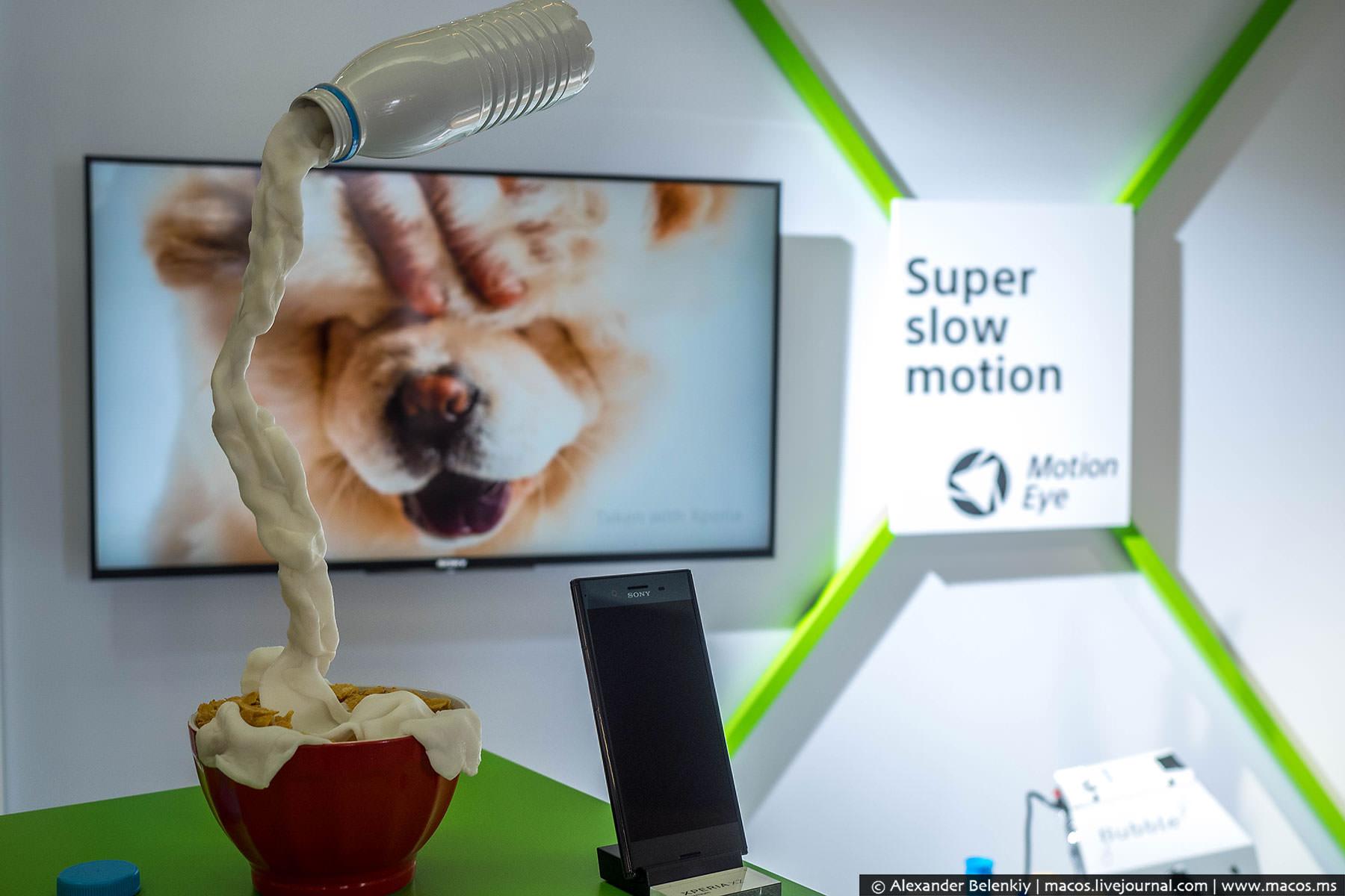 Новая камера получила название Motion Eye, и у нее есть две важные особенности: сверхмедленные видео