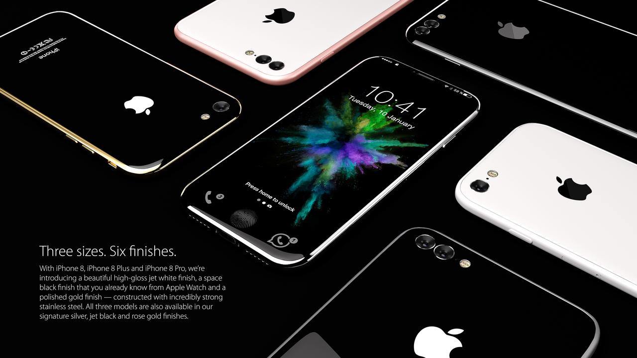 Стала известна ориентировочная стоимость нового iPhone 8