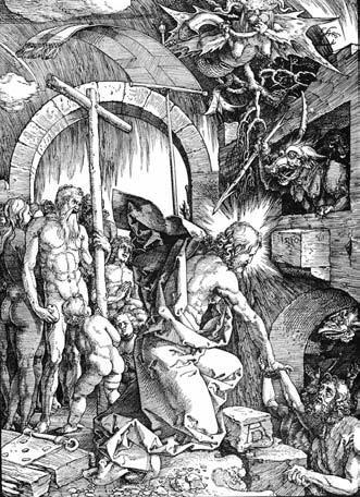А.Дюрер. Страсти Христовы. Схождение в ад