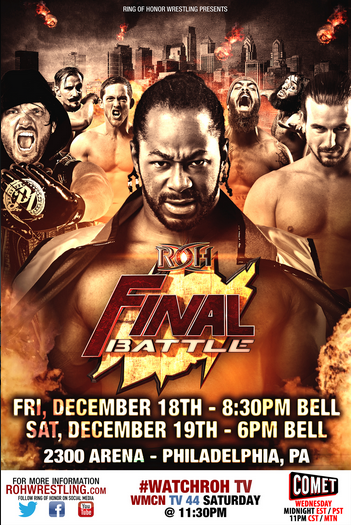 Post image of ROH Final Battle 2015