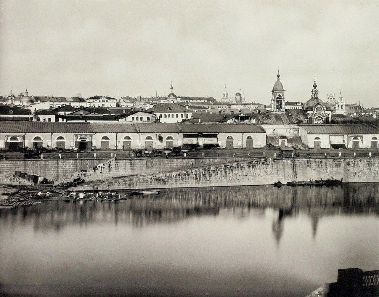 339. Китай-город. 2-й вид из за Москвы-реки