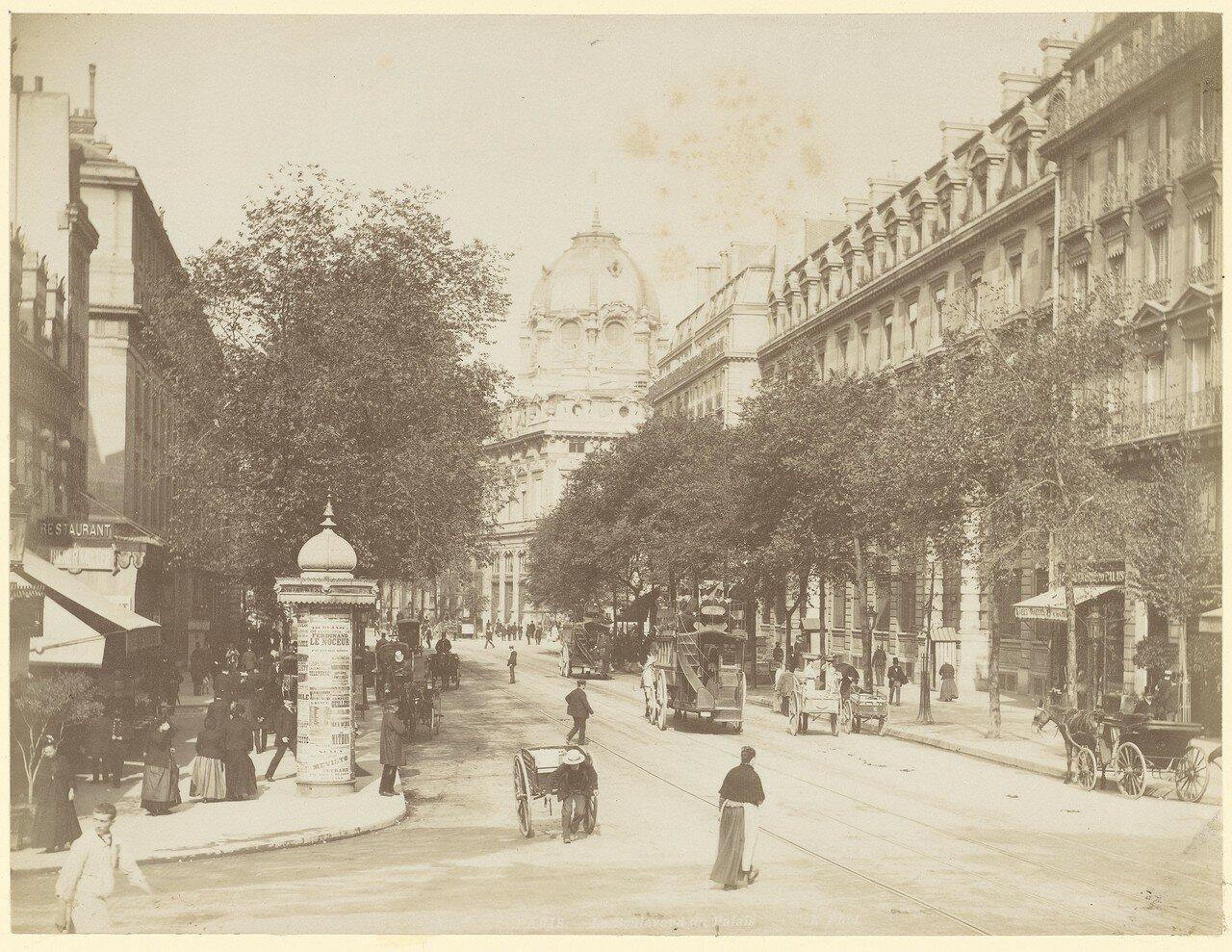 1870-е. Бульвар дю Пале