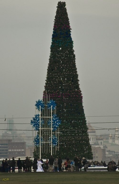 Москва, декабрь