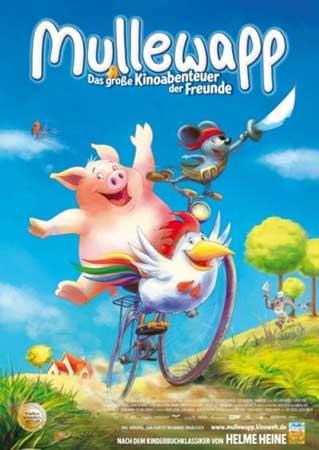 Друзья навсегда / Большое киноприключение друзей / Mullewapp - Das große Kinoabenteuer der Freunde / Friends forever (2009) DVDRip
