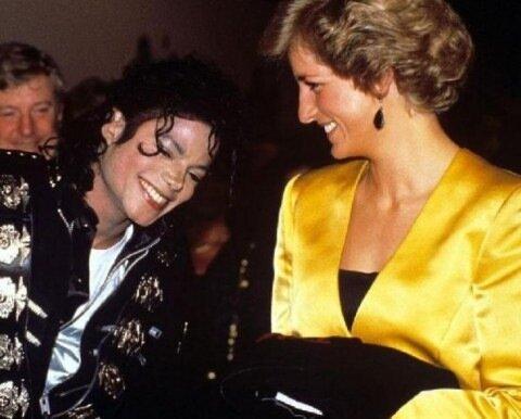 Майкл и Диана.Обоих уже нет...Как странно....