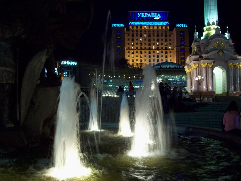 фонтан на майдане незалежности