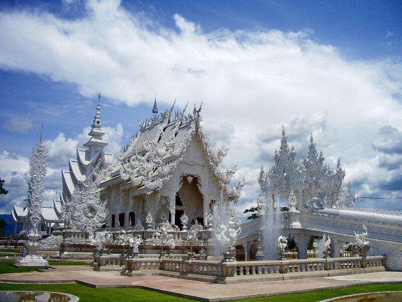 Храм Wat Rong Khun, Чанг Рай, Таиланд