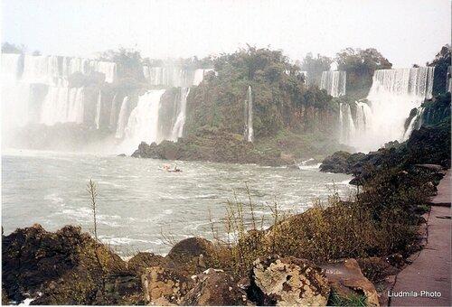 Водопады на Игуацу