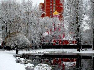 Храм Новомучеников и исповедников Российскихг. Железнодорожный (Кучино)