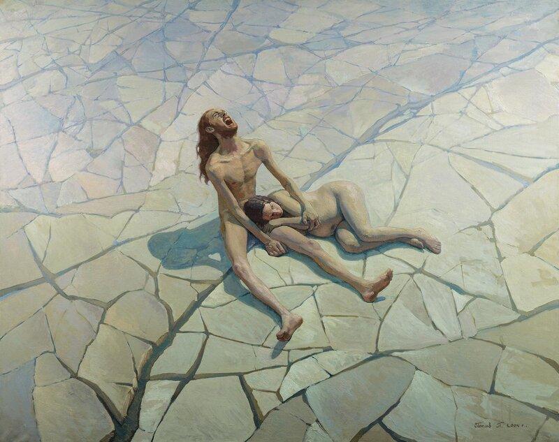 """Адам и Ева. Потерянный Рай"""" Художник Павел Попов"""