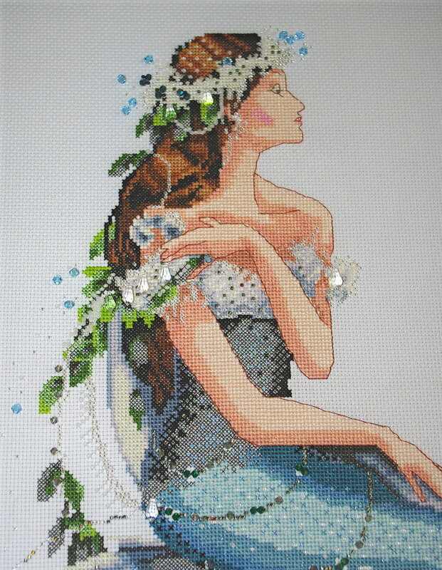 enchanted mermaid.  Клубничный рай от ЧМ.