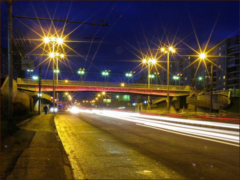Переход с красной подсветкой