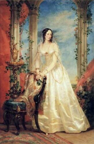 Княгиня Зинаида Ивановна Юсупова.(1809-1893)
