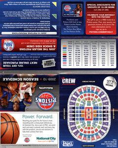 Detroit Pistons shedule