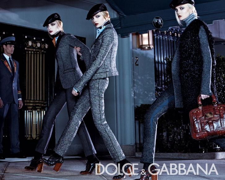 Dolce Gabbana осень-зима 2008-2009