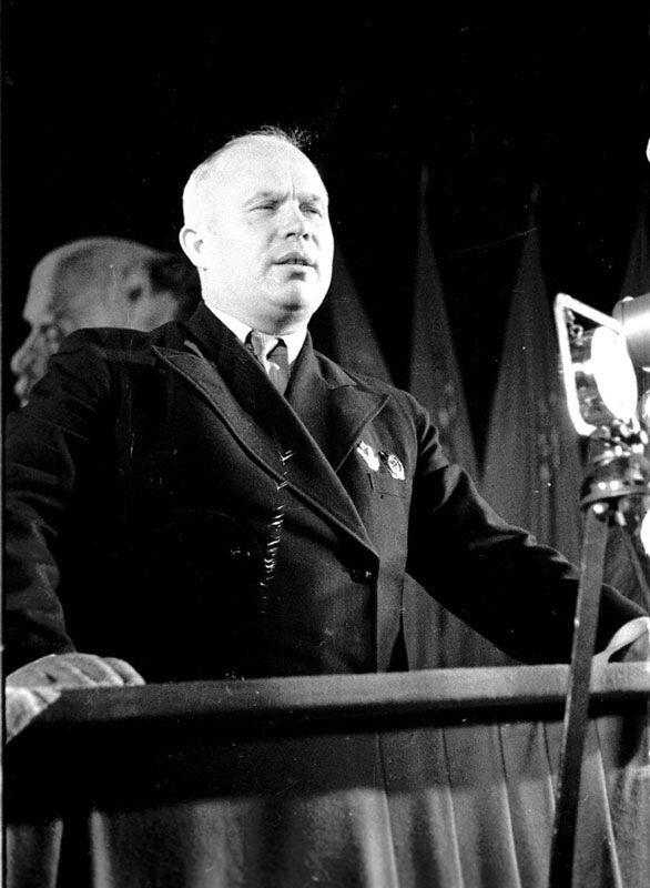 Выступление Н.С.Хрущева с трибуны Народного собрания Западной Украины Октябрь 1939 г.