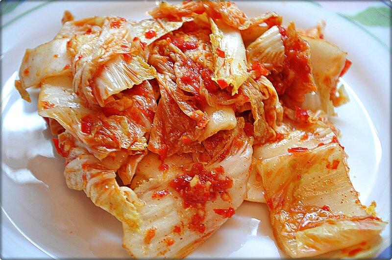 салат по-корейски из пекинской капусты на зиму