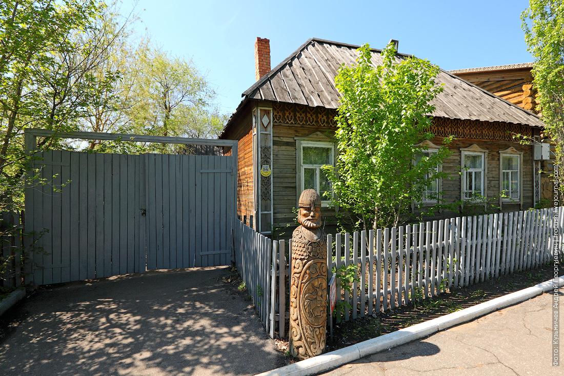 Русский двор национальная деревня народов Саратовской области