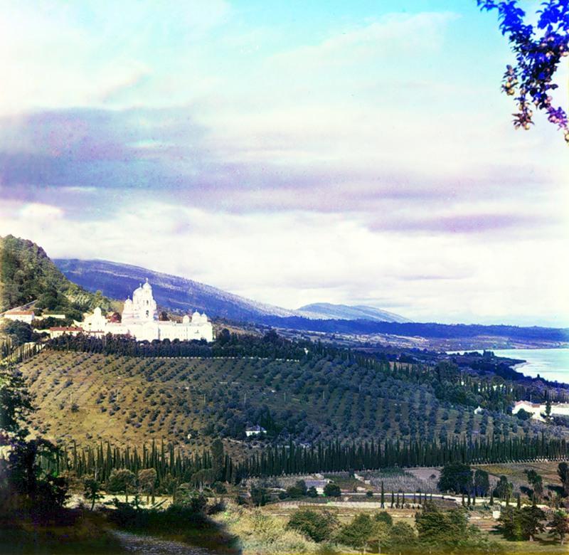 Абхазия на цветных снимках Прокудина-Горского 1904 и 1912 гг. (16 фото)