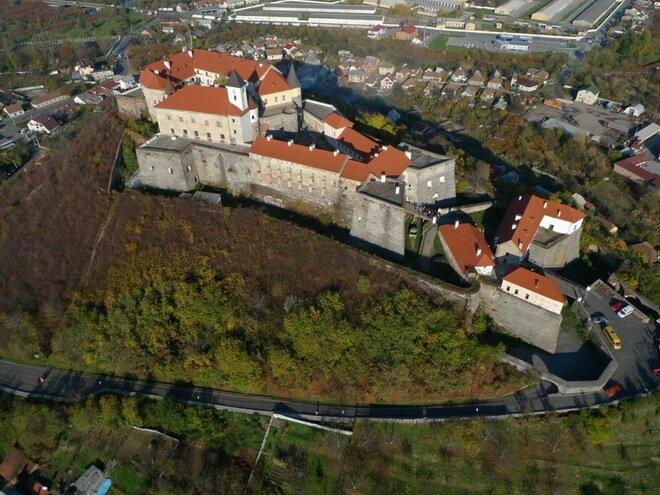 Мукачевский замок. Украина
