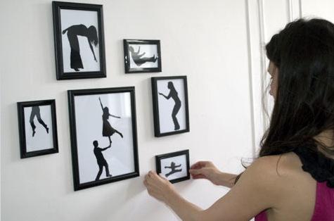 Как своими руками сделать рамки на стену для фото