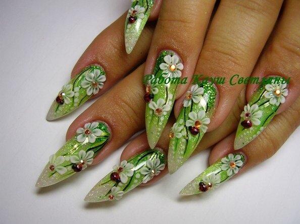 Как красиво накрасить ногти в