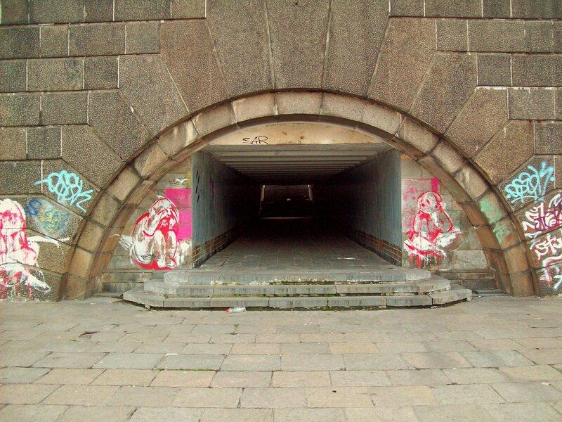 Подземный переход под Набережным шоссе