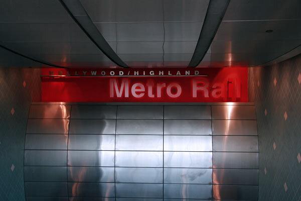 метро в Лос-Анджелесе