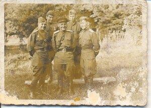 Фронтовые друзья.Май 1945 года, Германия.