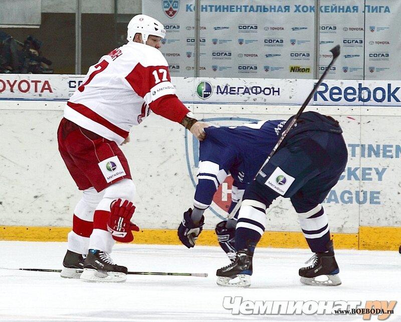 ФОТО: «Динамо» (Москва) - «Витязь» (Чехов) 6:1