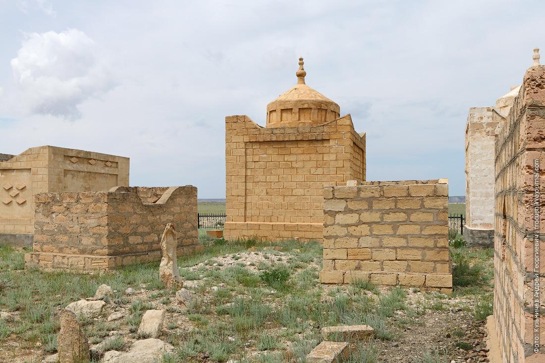 мавзолей на масульманском кладбище