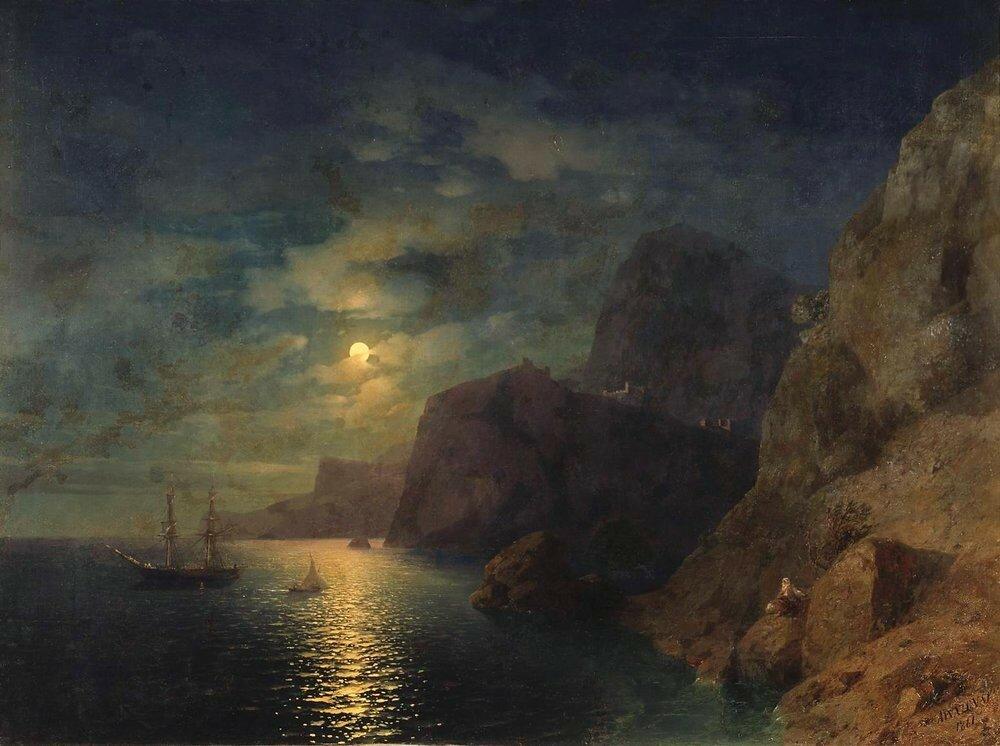 Море ночью. 1861.jpg
