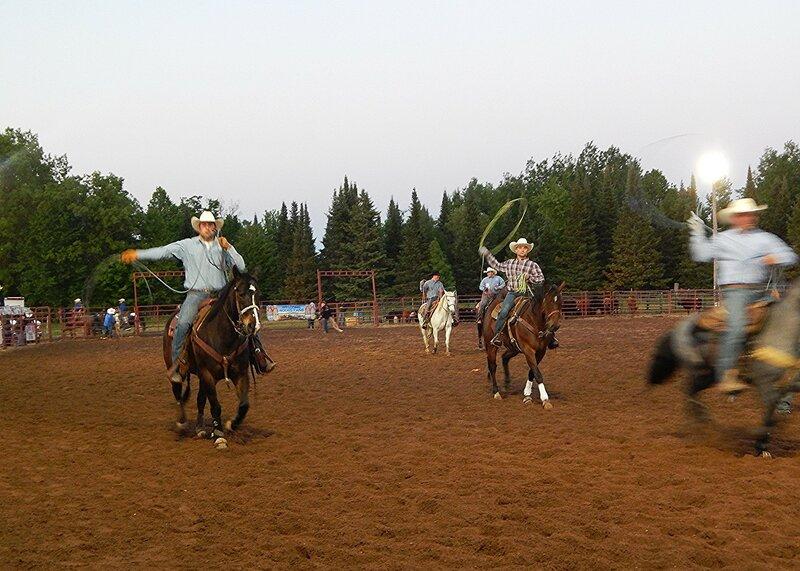 Соревнования на быках.
