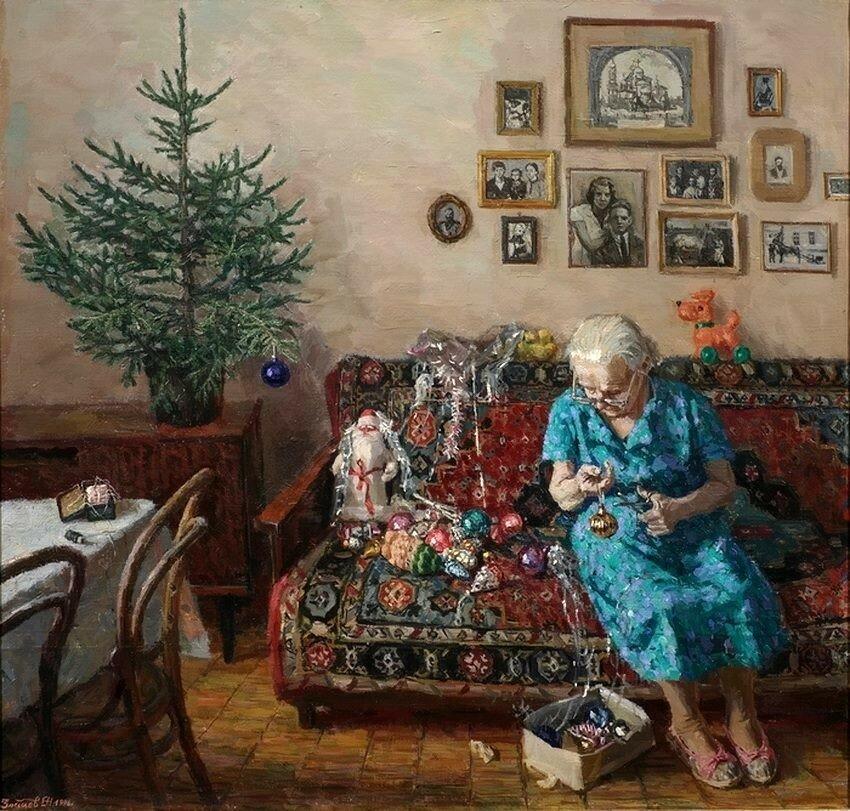 Егор Зайцев, «Рождественская елка», 1996 год.