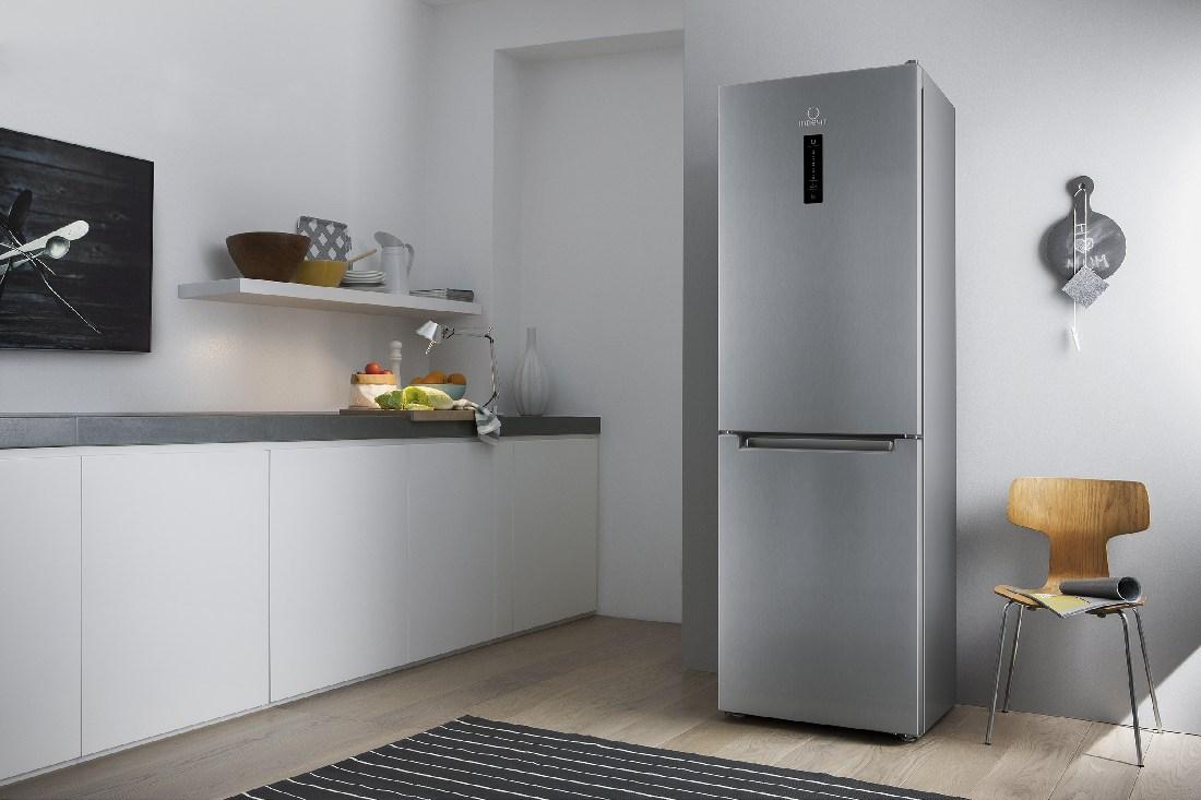 холодильники Indesit нержавейка