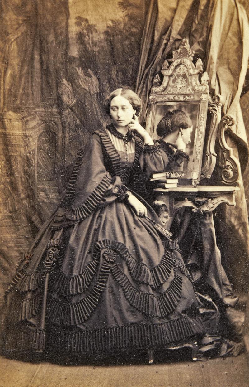 Princess Alice of the United Kingdom (Alice Maud Mary, daughter of Queen Victoria).DateJune 1861