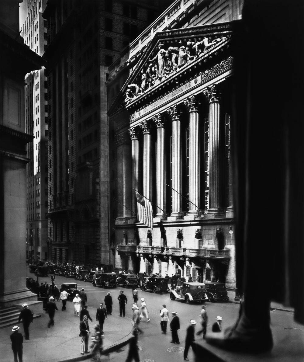 1933. Биржа