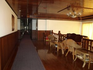 Гостиница в Сием Рипе. Там даже был бассейн.
