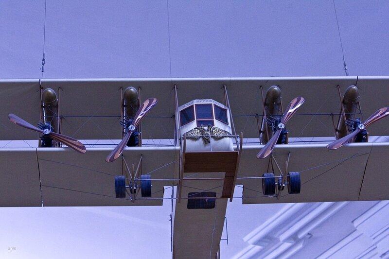 «Илья Муромец» - первый в мире пассажирский самолёт