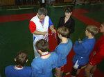 В.Яловой - тренер команды п.Пограничный