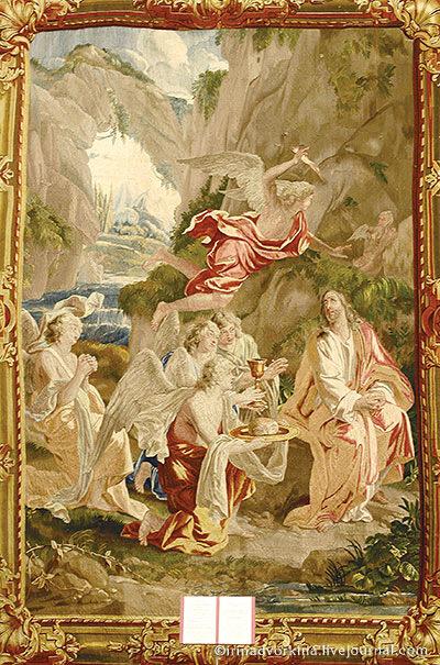 Шпалера «Испытание Христа в пустыне». ГМЗ «Царицыно».